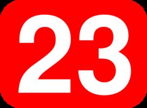 23numero