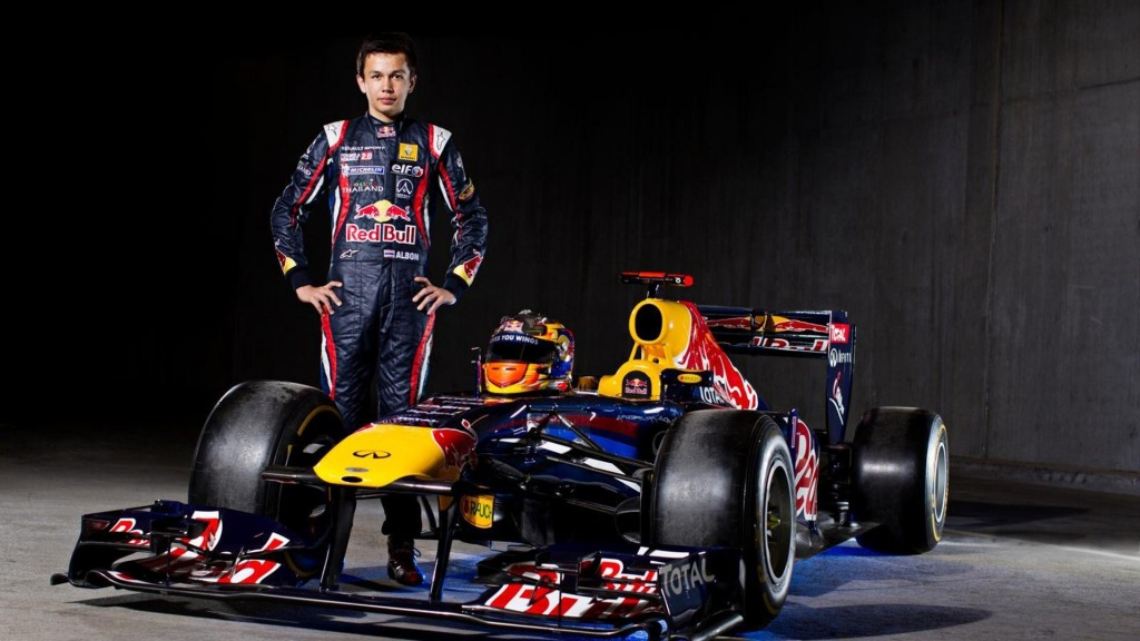 Alex Albon - Portrait